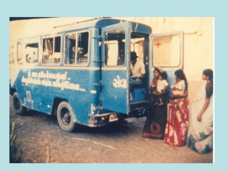 SEWA Rural Mobile Medical Van 1980