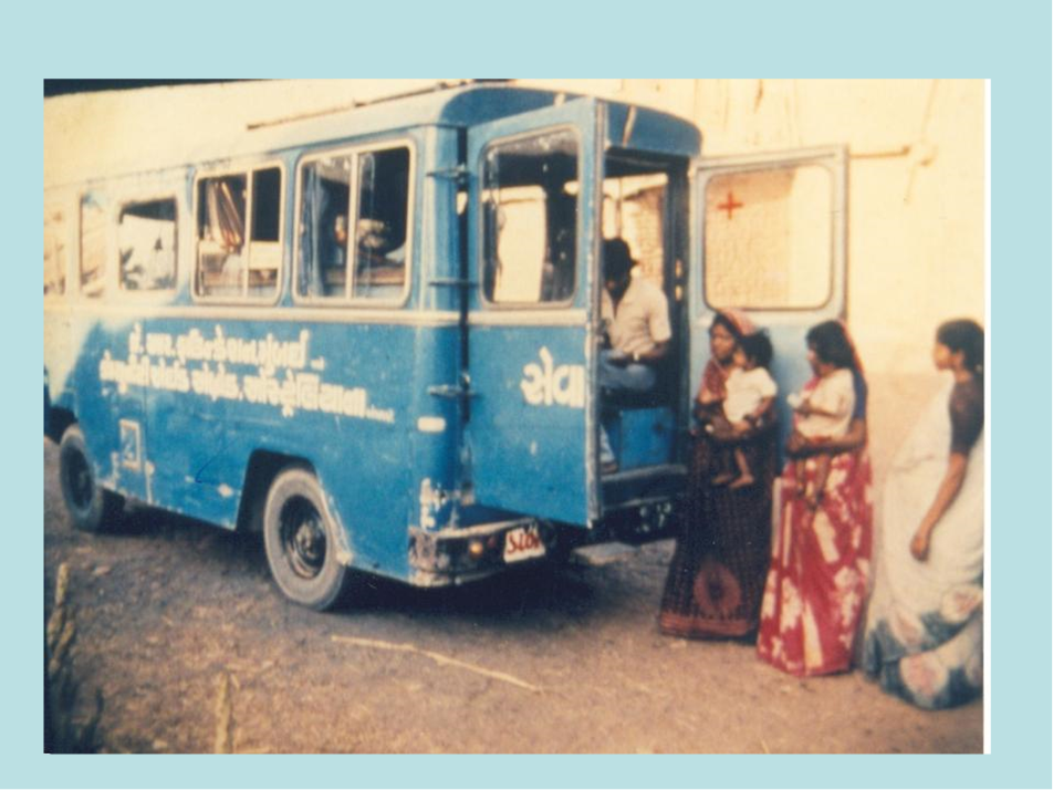 SEWA Rural Mobile Medical Van 1980