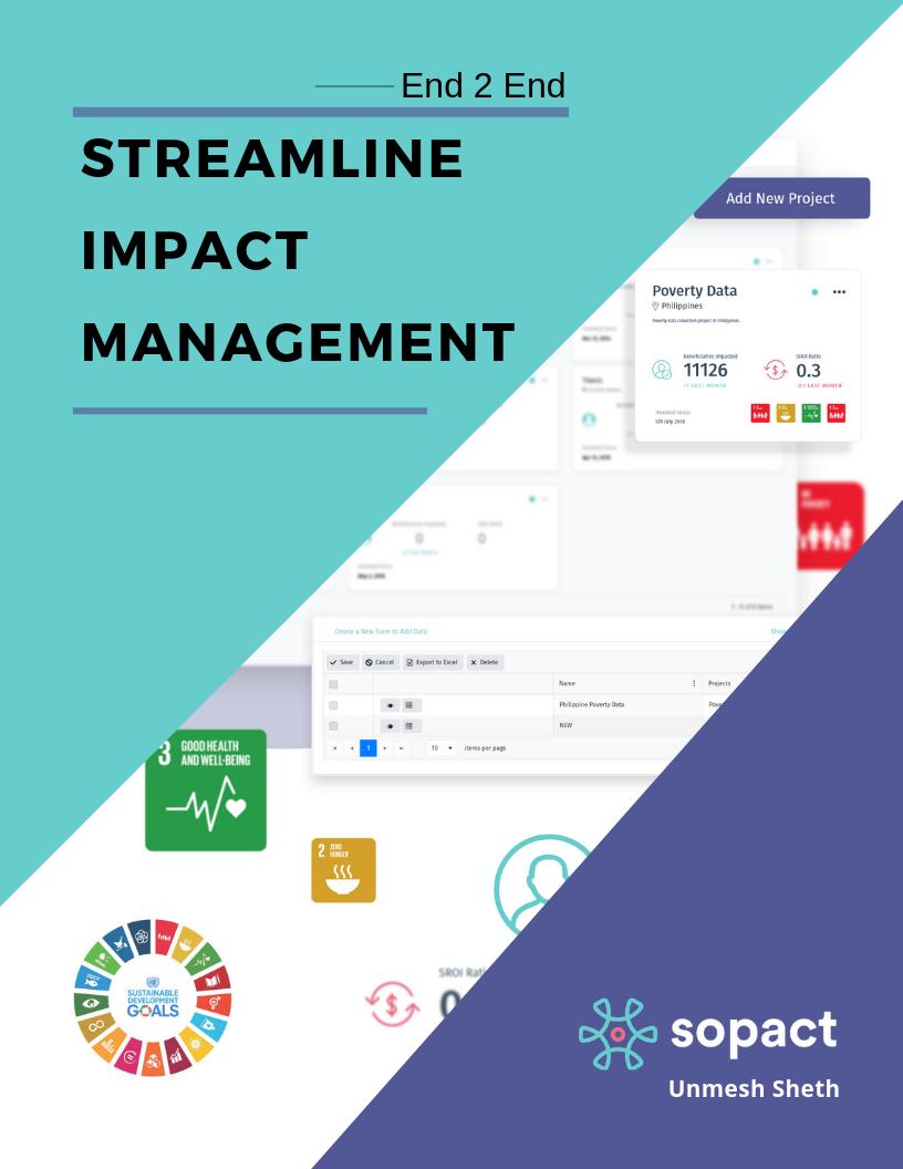 Streamline Impact Management_ Sopact