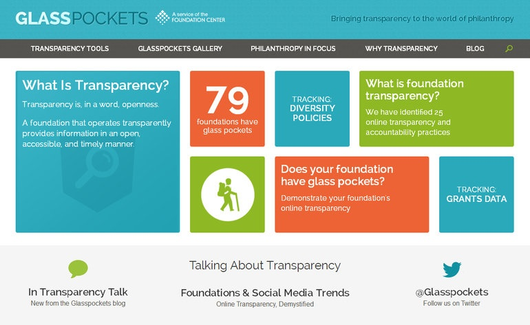 foundation transparency