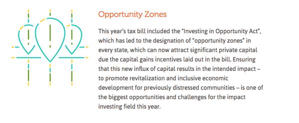 Socap 2018 - impact management - opportunity zones
