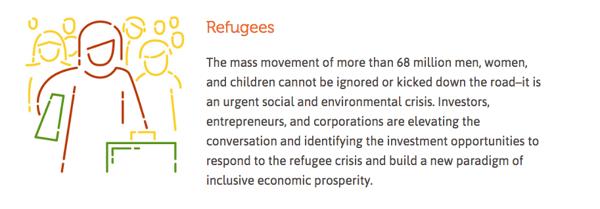 Socap 2018 - impact management - refugees