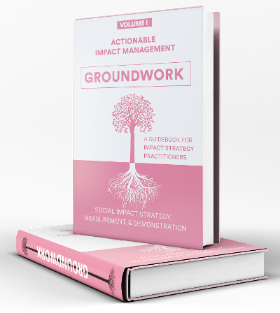 Actionable Impact Management Groundword
